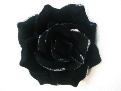 Роза бархатная с кантом (100шт/уп) d-13cм