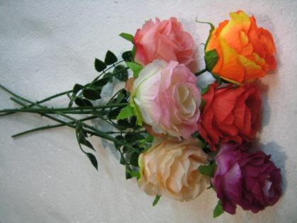 Роза одиночная (100шт/уп) микс