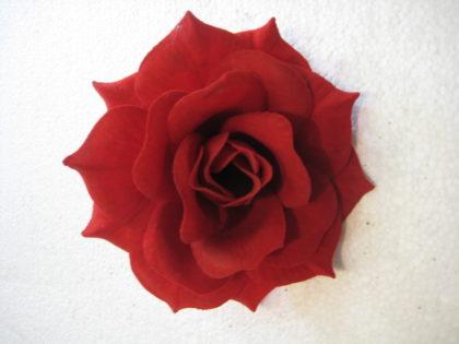 Роза бархатная «Клаудия»(100 шт/уп) d-14см