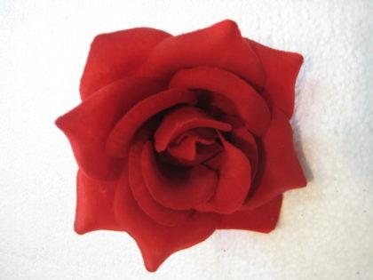 Роза бархатная «Джульетта» (100шт/уп) d-13см