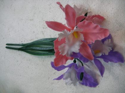 Орхидея *3 пластик (80)
